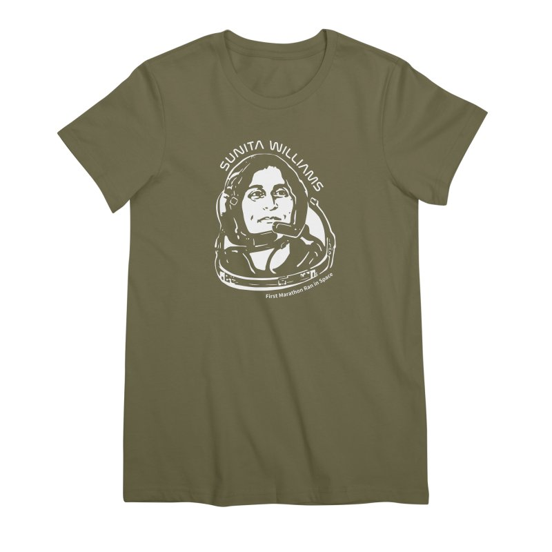 Women in Space: Sunita Williams Women's Premium T-Shirt by Photon Illustration's Artist Shop