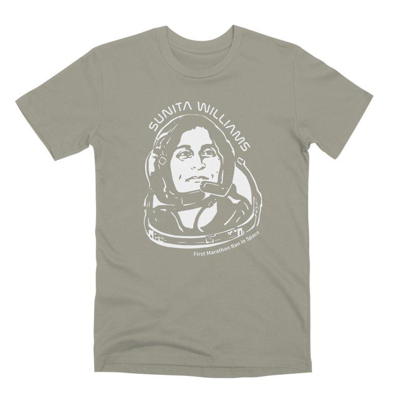 Women in Space: Sunita Williams Men's Premium T-Shirt by Photon Illustration's Artist Shop