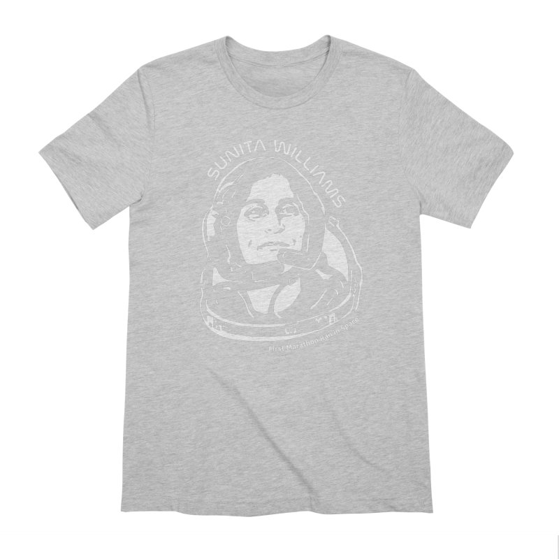 Women in Space: Sunita Williams Men's Extra Soft T-Shirt by Photon Illustration's Artist Shop