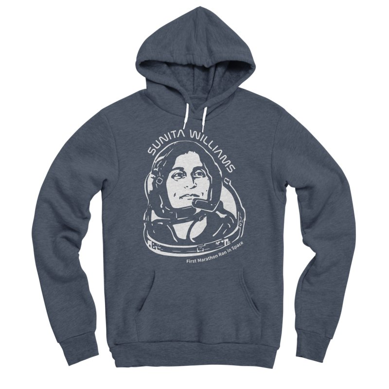 Women in Space: Sunita Williams Women's Sponge Fleece Pullover Hoody by Photon Illustration's Artist Shop
