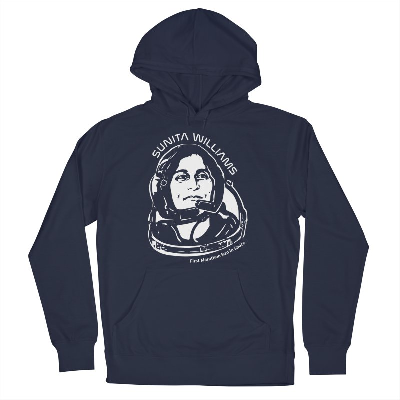 Women in Space: Sunita Williams Men's Pullover Hoody by Photon Illustration's Artist Shop