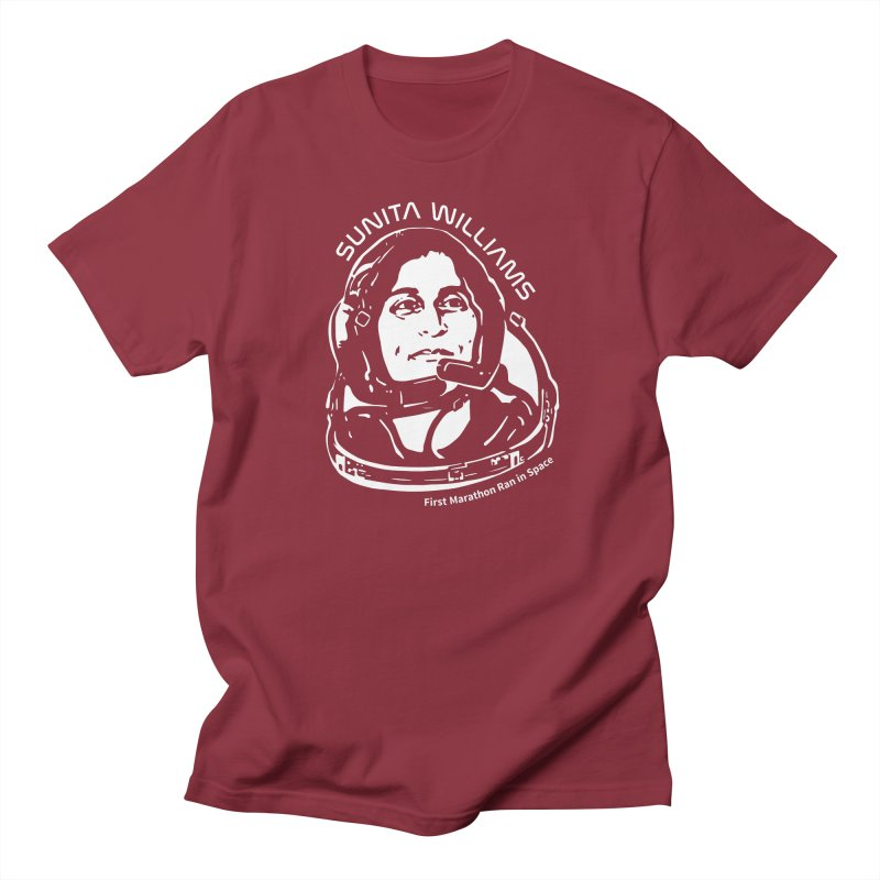 Women in Space: Sunita Williams Men's T-Shirt by Photon Illustration's Artist Shop
