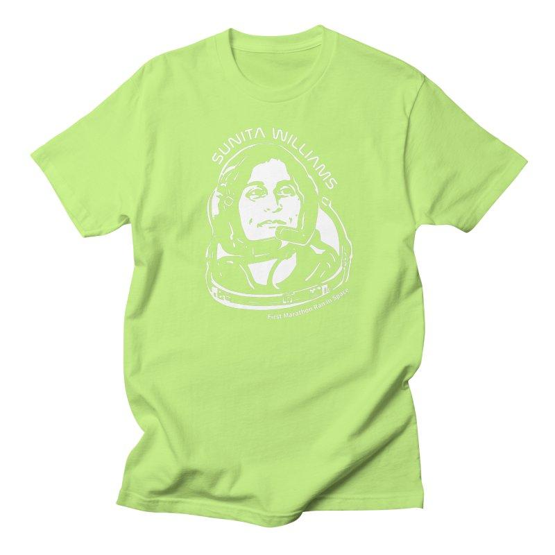 Women in Space: Sunita Williams Men's T-Shirt by Photon Illustration's Artist Shop