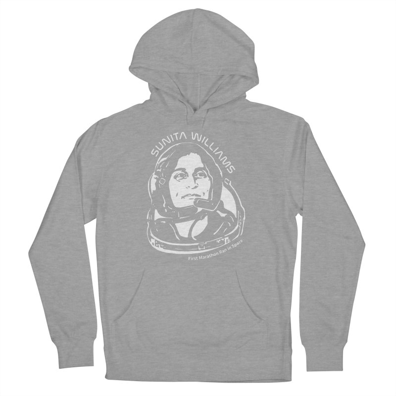 Women in Space: Sunita Williams Women's French Terry Pullover Hoody by Photon Illustration's Artist Shop