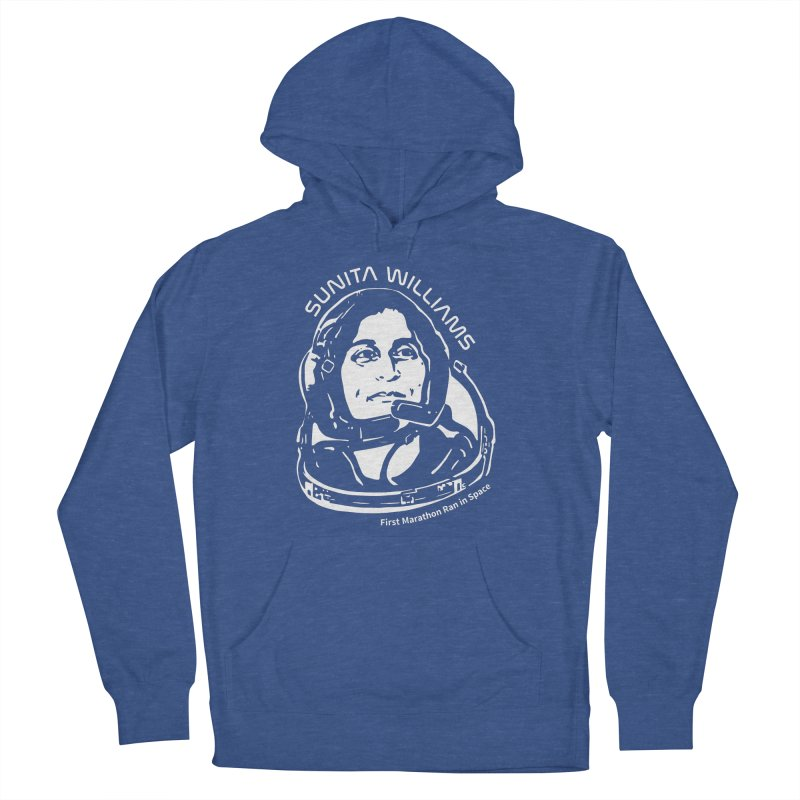 Women in Space: Sunita Williams Men's French Terry Pullover Hoody by Photon Illustration's Artist Shop