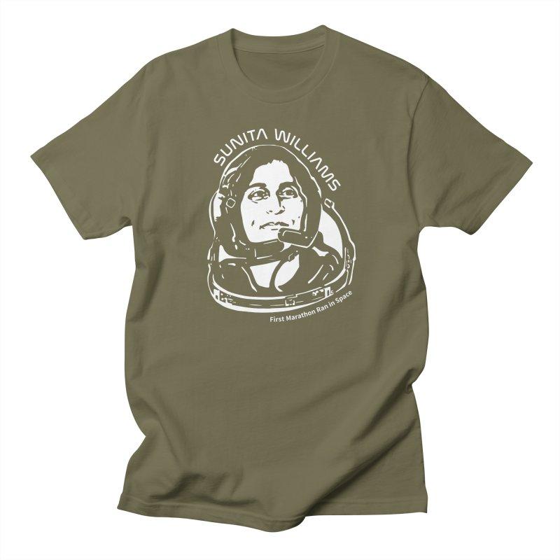 Women in Space: Sunita Williams Men's Regular T-Shirt by Photon Illustration's Artist Shop