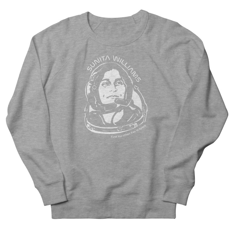 Women in Space: Sunita Williams Women's French Terry Sweatshirt by Photon Illustration's Artist Shop