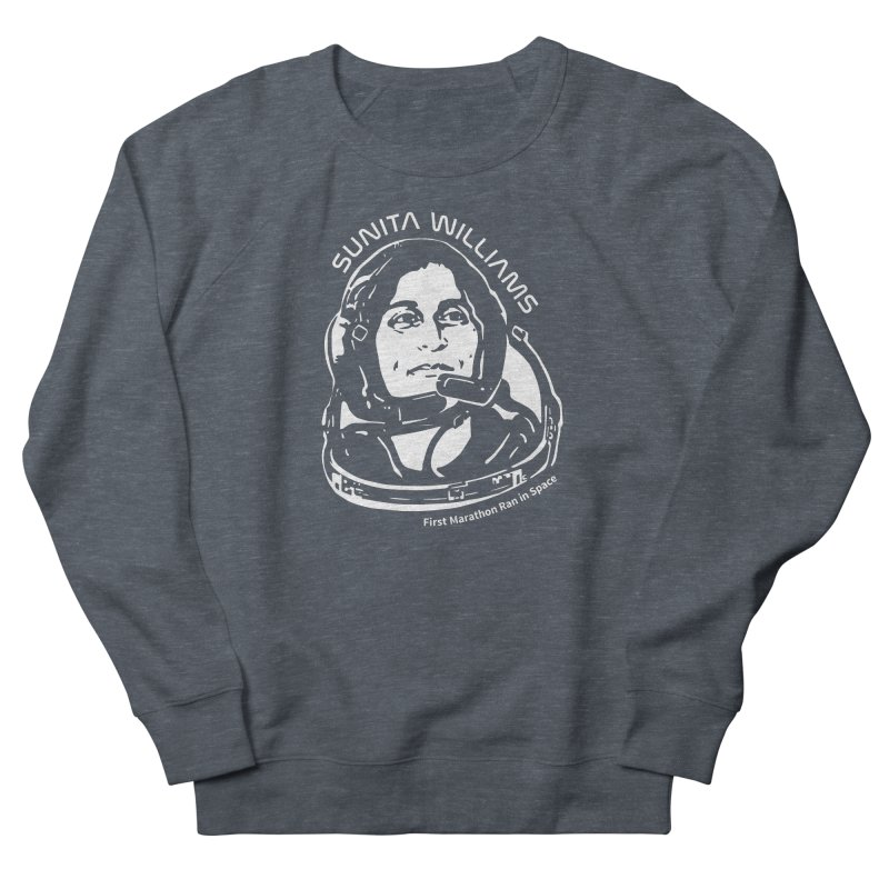 Women in Space: Sunita Williams Men's French Terry Sweatshirt by Photon Illustration's Artist Shop
