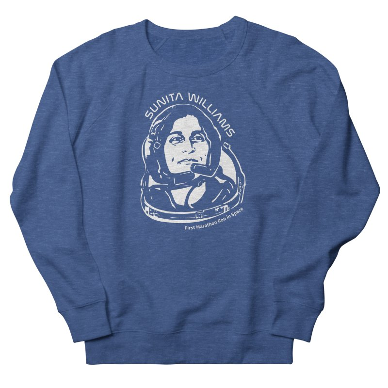 Women in Space: Sunita Williams Men's French Terry Sweatshirt by Photon Illustration's Artist Shop