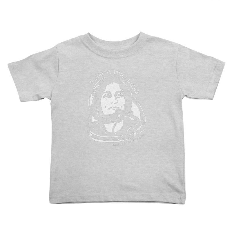 Women in Space: Sunita Williams Kids Toddler T-Shirt by Photon Illustration's Artist Shop