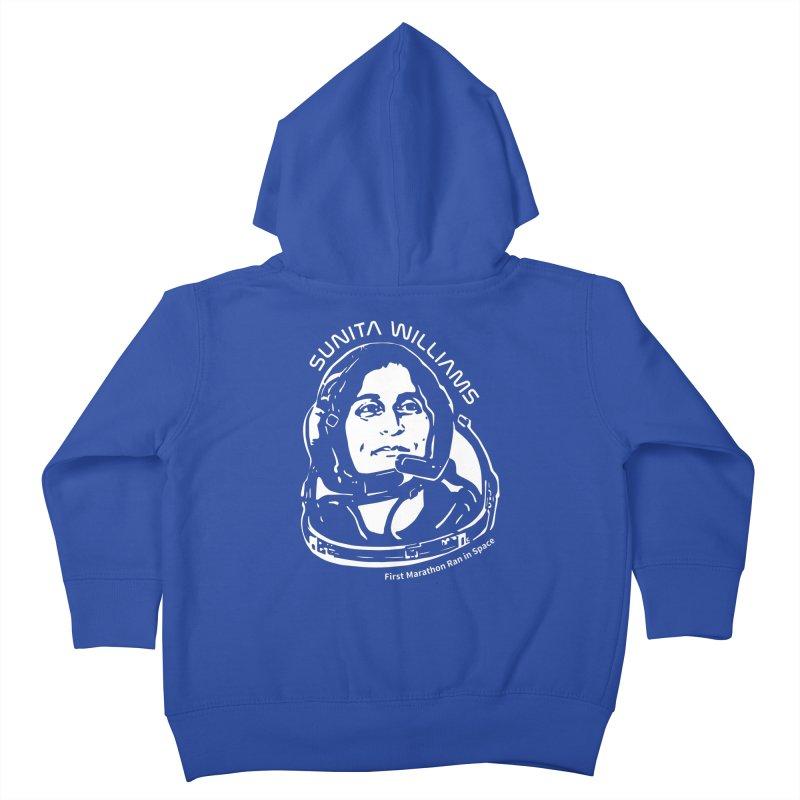 Women in Space: Sunita Williams Kids Toddler Zip-Up Hoody by Photon Illustration's Artist Shop