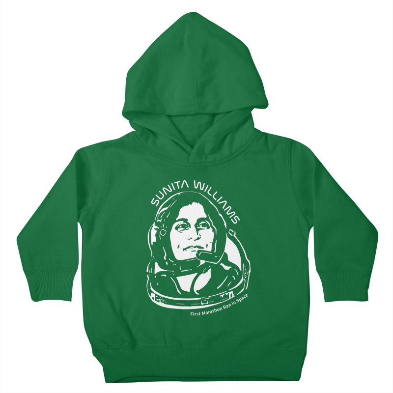 Women in Space: Sunita Williams Kids Toddler Pullover Hoody by Photon Illustration's Artist Shop