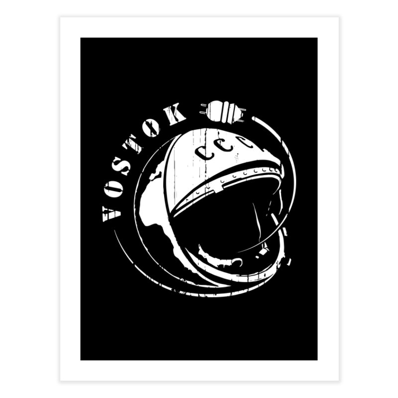 Vostok Home Fine Art Print by Photon Illustration's Artist Shop