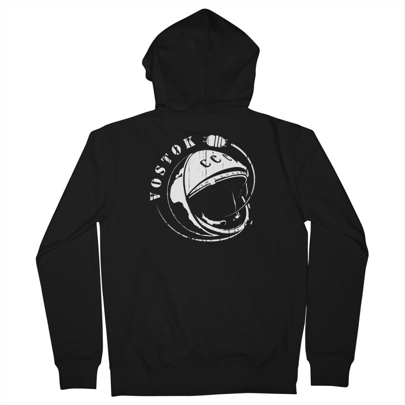 Vostok Women's French Terry Zip-Up Hoody by Photon Illustration's Artist Shop