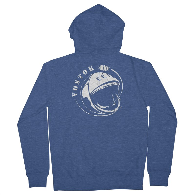 Vostok Men's French Terry Zip-Up Hoody by Photon Illustration's Artist Shop