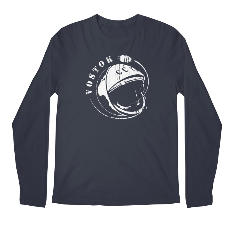 Vostok Men's Regular Longsleeve T-Shirt by Photon Illustration's Artist Shop