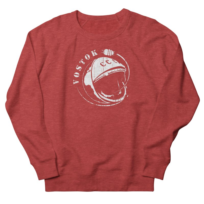 Vostok Men's French Terry Sweatshirt by Photon Illustration's Artist Shop