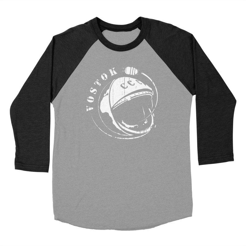 Vostok Men's Baseball Triblend Longsleeve T-Shirt by Photon Illustration's Artist Shop