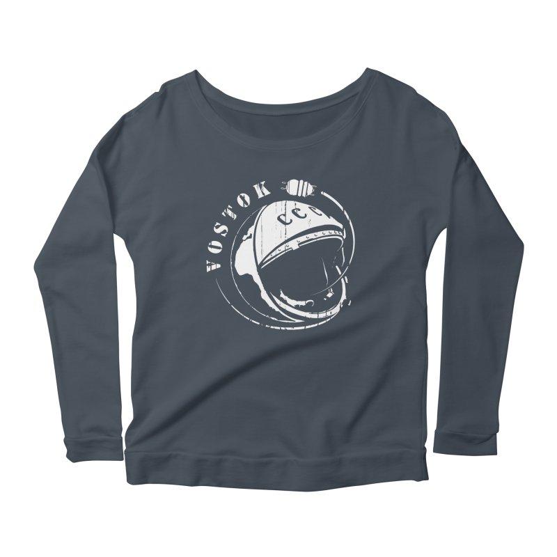 Vostok Women's Scoop Neck Longsleeve T-Shirt by Photon Illustration's Artist Shop