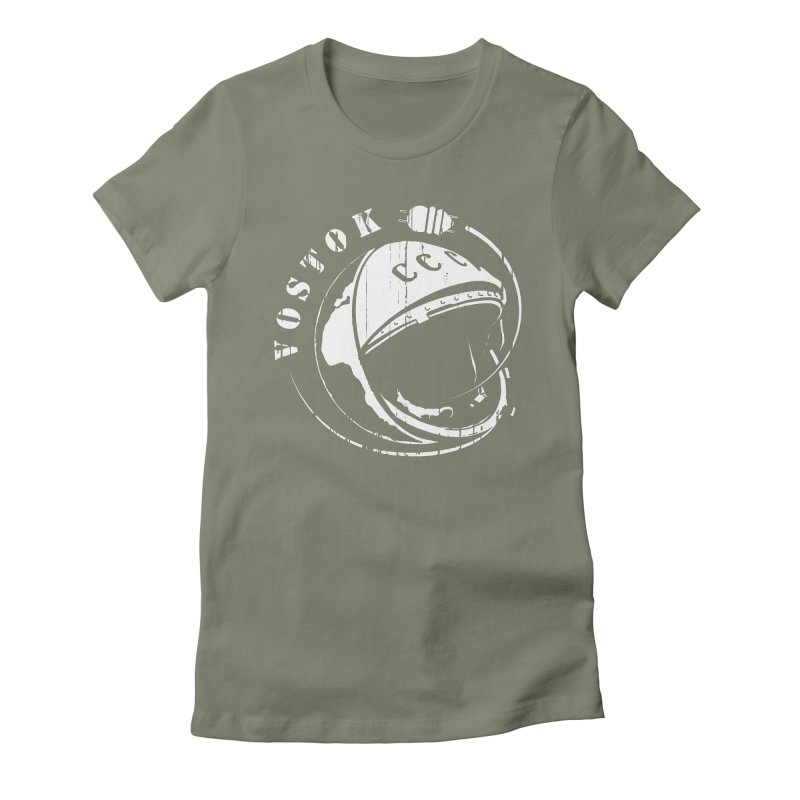 Vostok Women's Fitted T-Shirt by Photon Illustration's Artist Shop