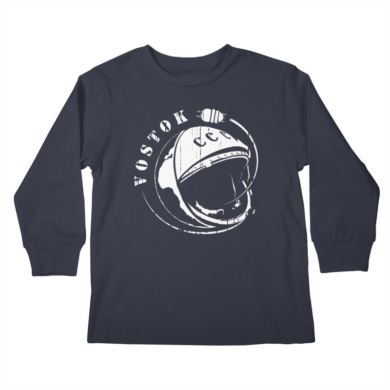 Vostok Kids Longsleeve T-Shirt by Photon Illustration's Artist Shop