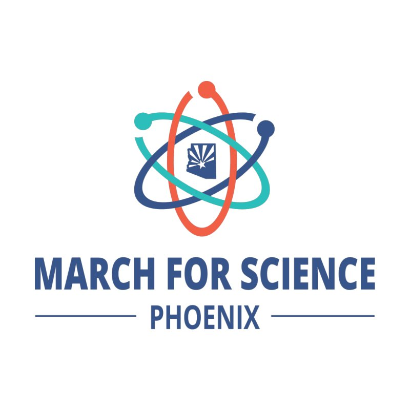 March for Science Phoenix Logo Accessories Bag by March for Science Phoenix Merch