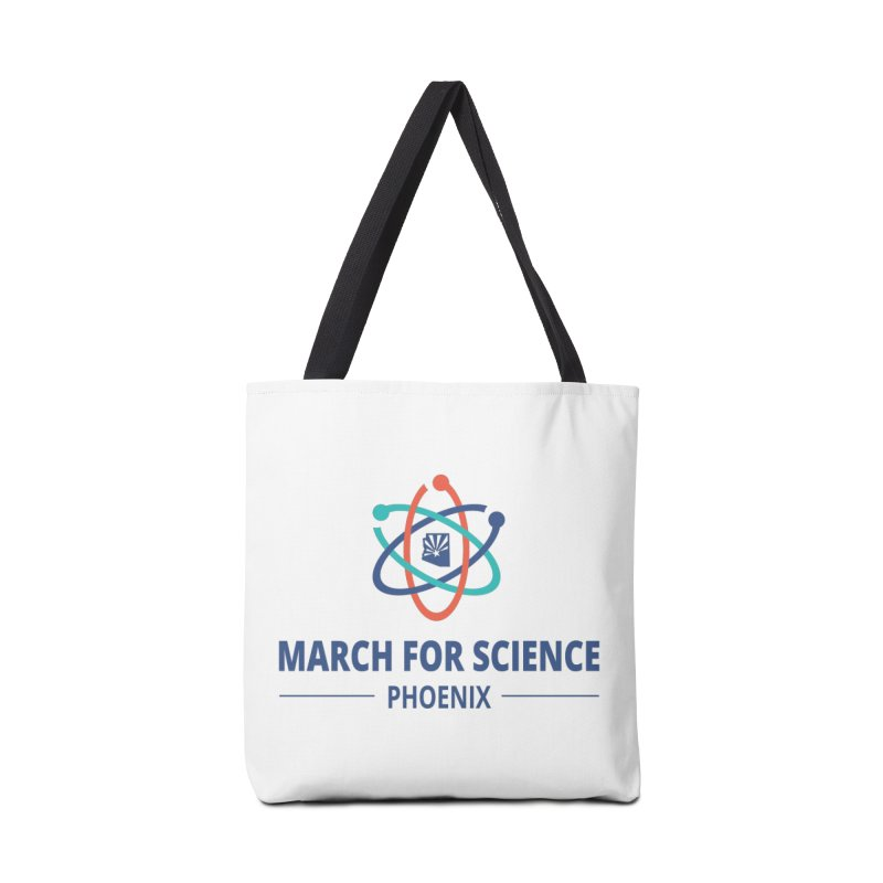 March for Science Phoenix Logo in Tote Bag by March for Science Phoenix Merch