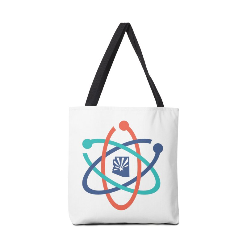 March for Science Phoenix Atom in Tote Bag by March for Science Phoenix Merch