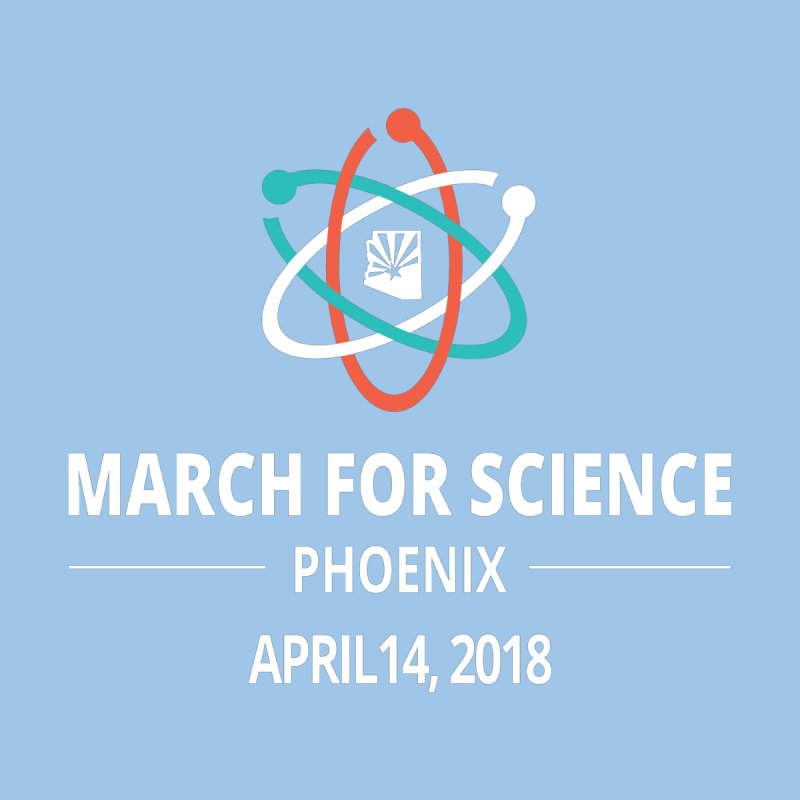 March for Science Phoenix 2018 Commemorative Men's T-Shirt by March for Science Phoenix Merch