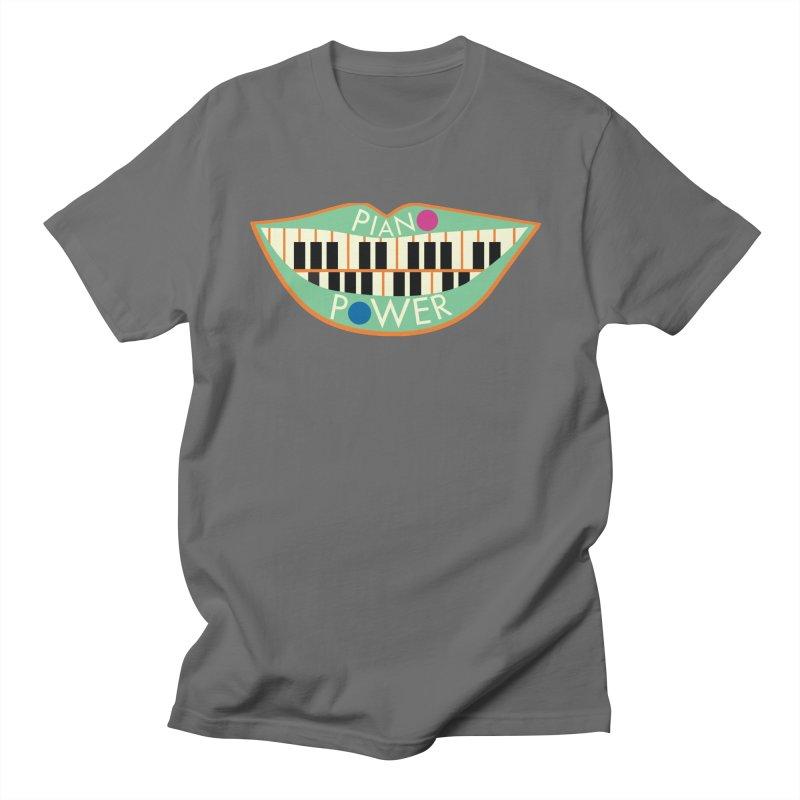 Piano Teeth Women's T-Shirt by Piano Power