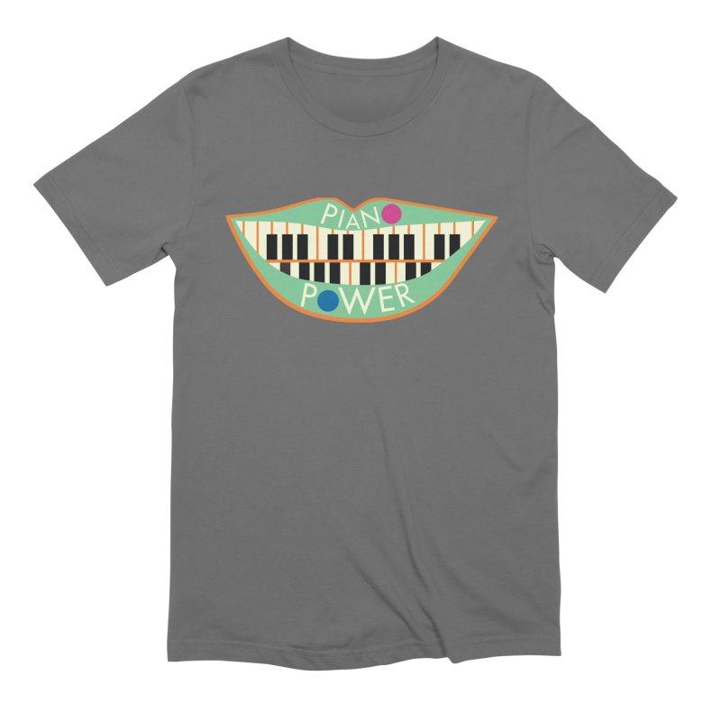 Piano Teeth Men's T-Shirt by Piano Power