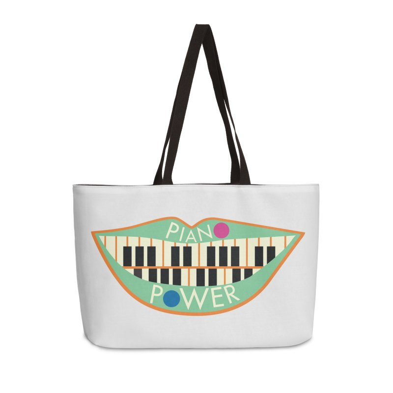 Piano Teeth Accessories Bag by Piano Power