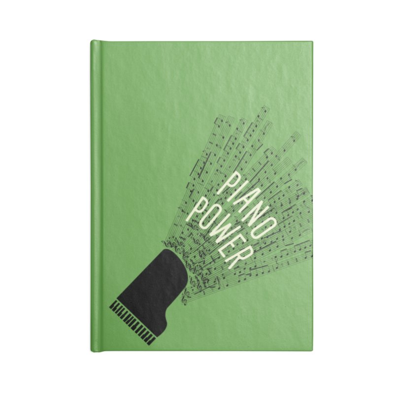 Piano Explosion Accessories Notebook by Piano Power