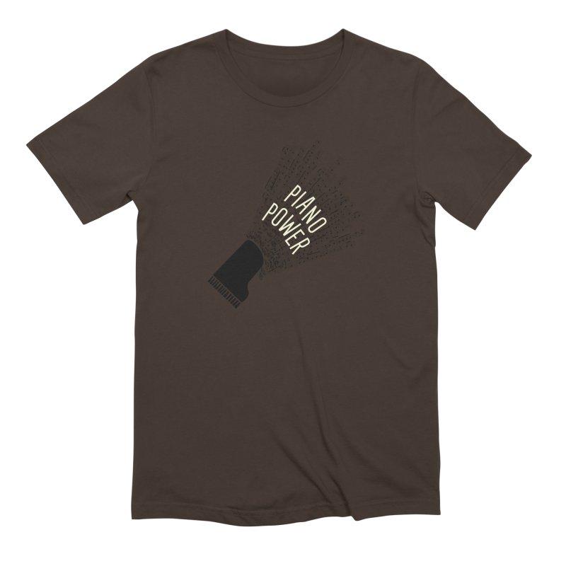 Piano Explosion Men's T-Shirt by Piano Power