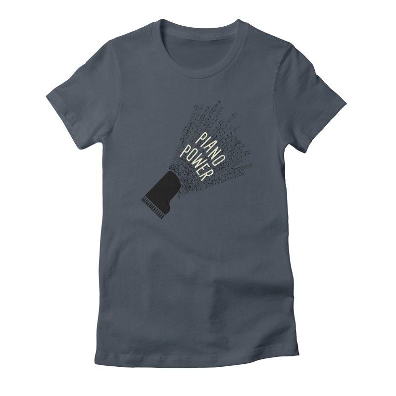 Piano Explosion Women's T-Shirt by Piano Power