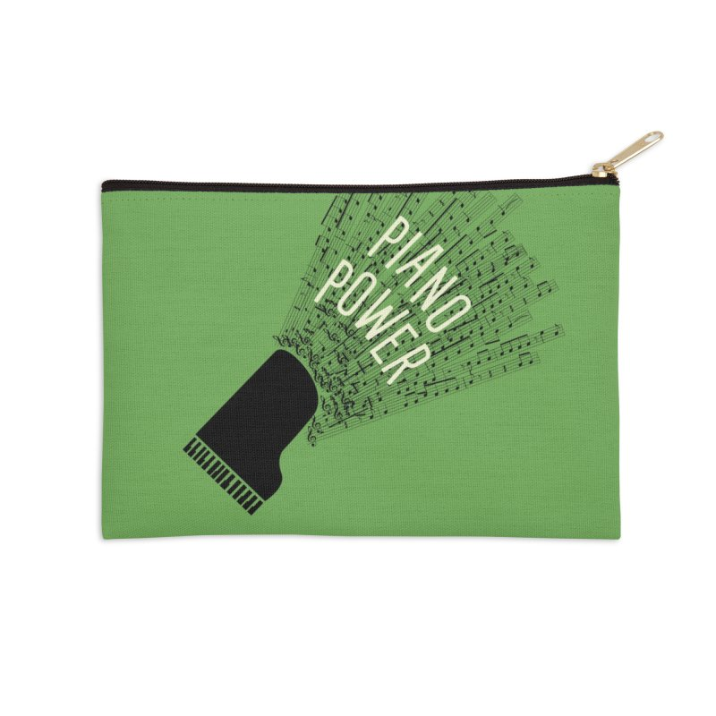 Piano Explosion Accessories Zip Pouch by Piano Power