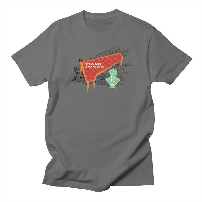 Mozart Women's T-Shirt by Piano Power