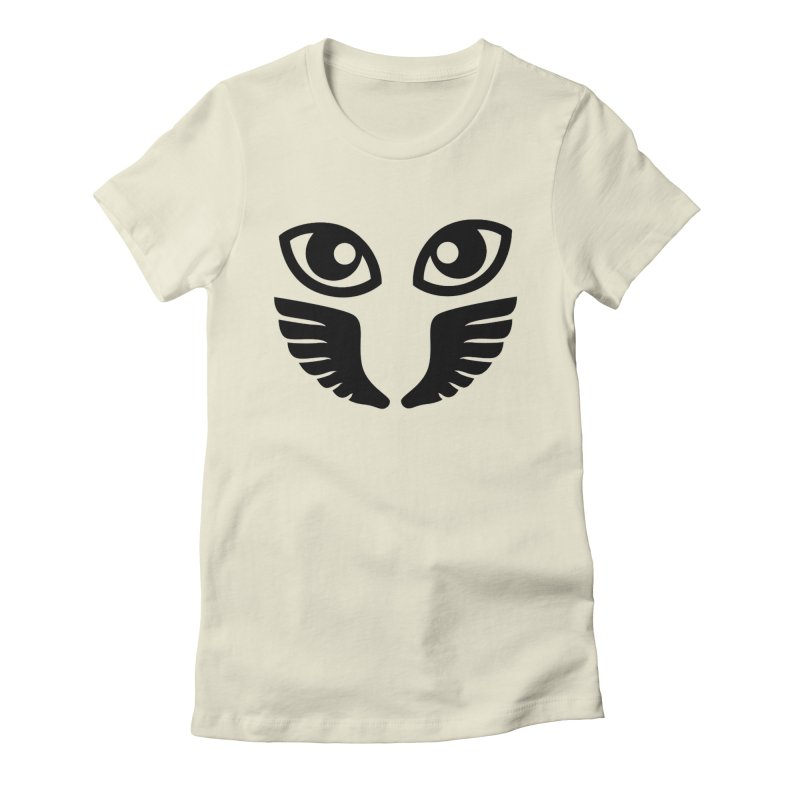 Occhiali - Gerundio Optics  Women's Fitted T-Shirt by Piccolo Cafe