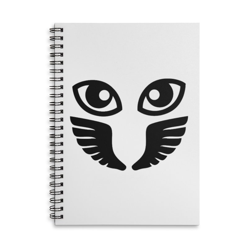 Occhiali - Gerundio Optics  Accessories Lined Spiral Notebook by Piccolo Cafe
