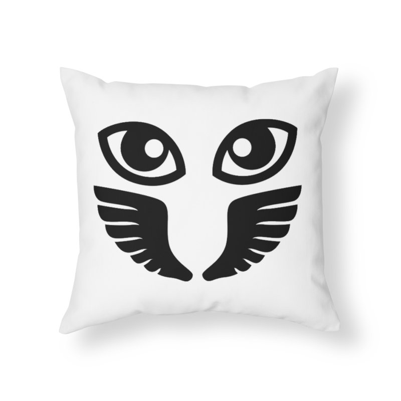 Occhiali - Gerundio Optics  Home Throw Pillow by Piccolo Cafe