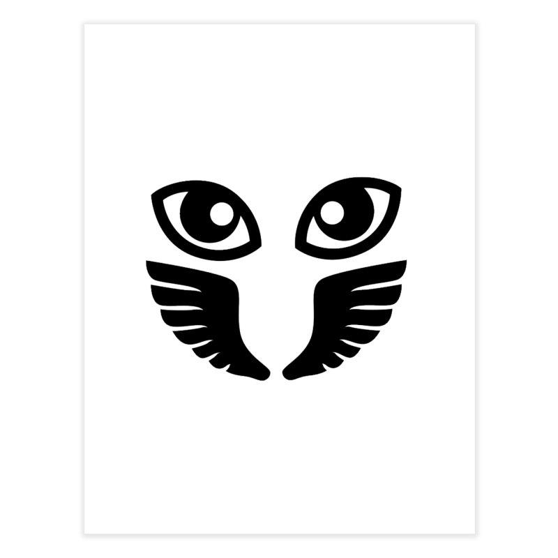 Occhiali - Gerundio Optics  Home Fine Art Print by Piccolo Cafe