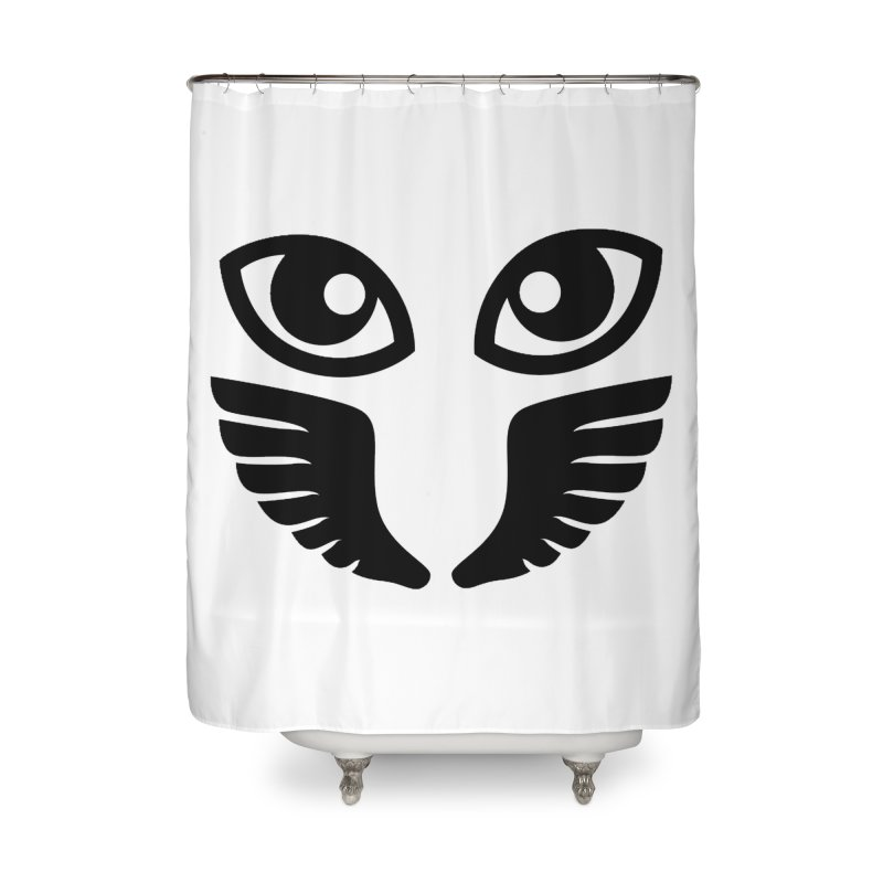 Occhiali - Gerundio Optics  Home Shower Curtain by Piccolo Cafe