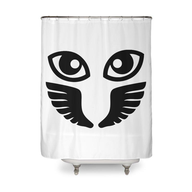 Occhiali - Gerundio Optics  Home Shower Curtain by Piccolo Cafe