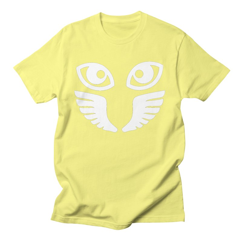 WHITE OCCHIALI - CLEAR OPTICS Men's T-Shirt by Piccolo Cafe