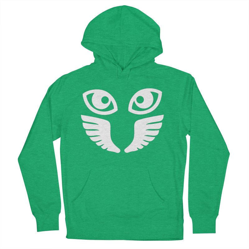 WHITE OCCHIALI - CLEAR OPTICS Women's Pullover Hoody by Piccolo Cafe