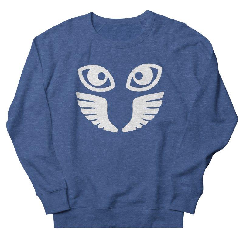 WHITE OCCHIALI - CLEAR OPTICS Men's Sweatshirt by Piccolo Cafe
