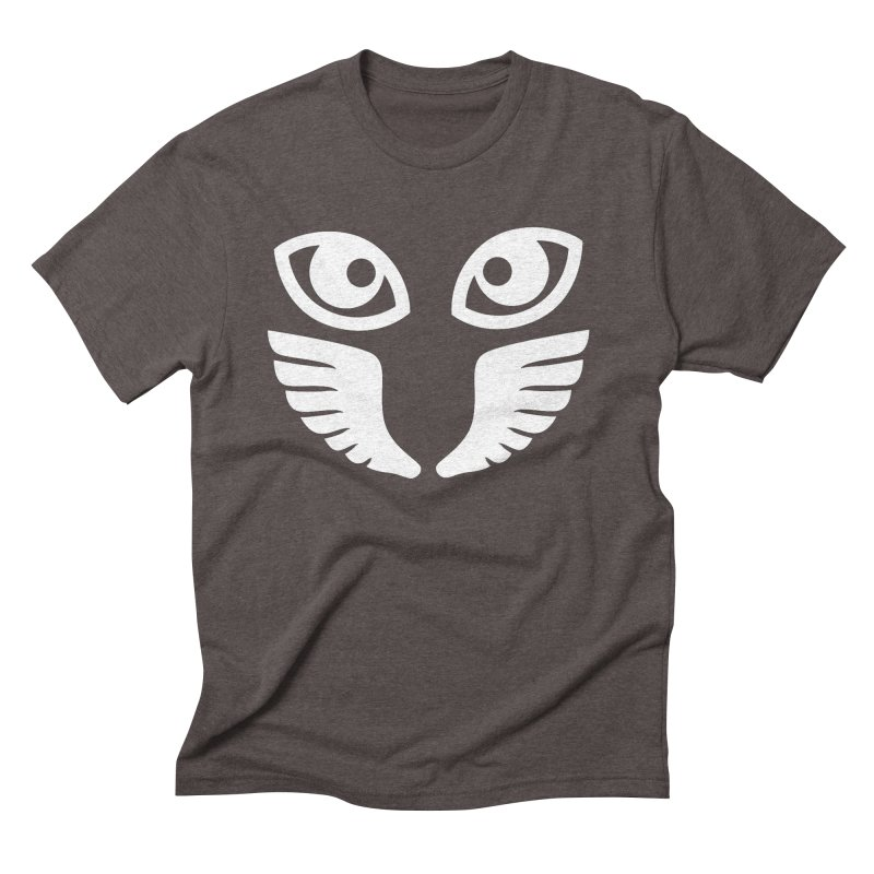WHITE OCCHIALI - CLEAR OPTICS Men's Triblend T-shirt by Piccolo Cafe