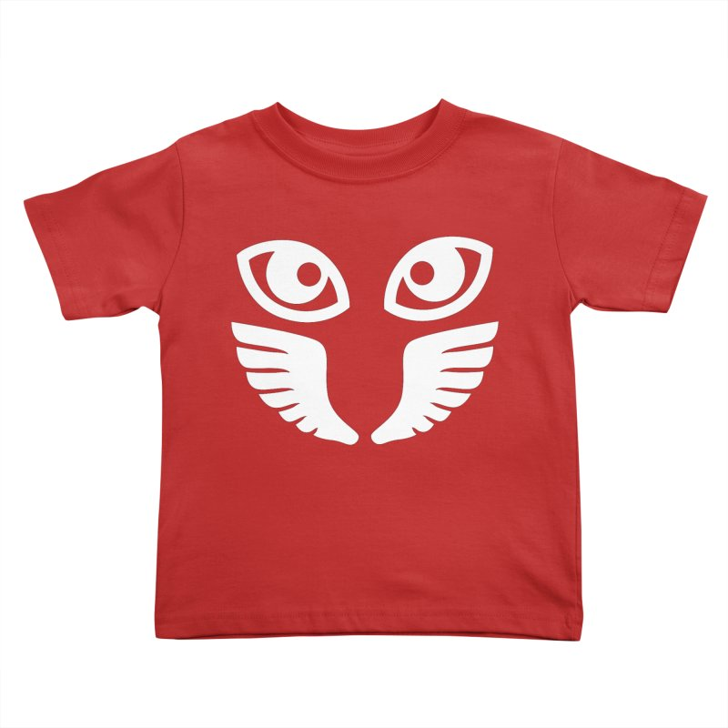 WHITE OCCHIALI - CLEAR OPTICS Kids Toddler T-Shirt by Piccolo Cafe