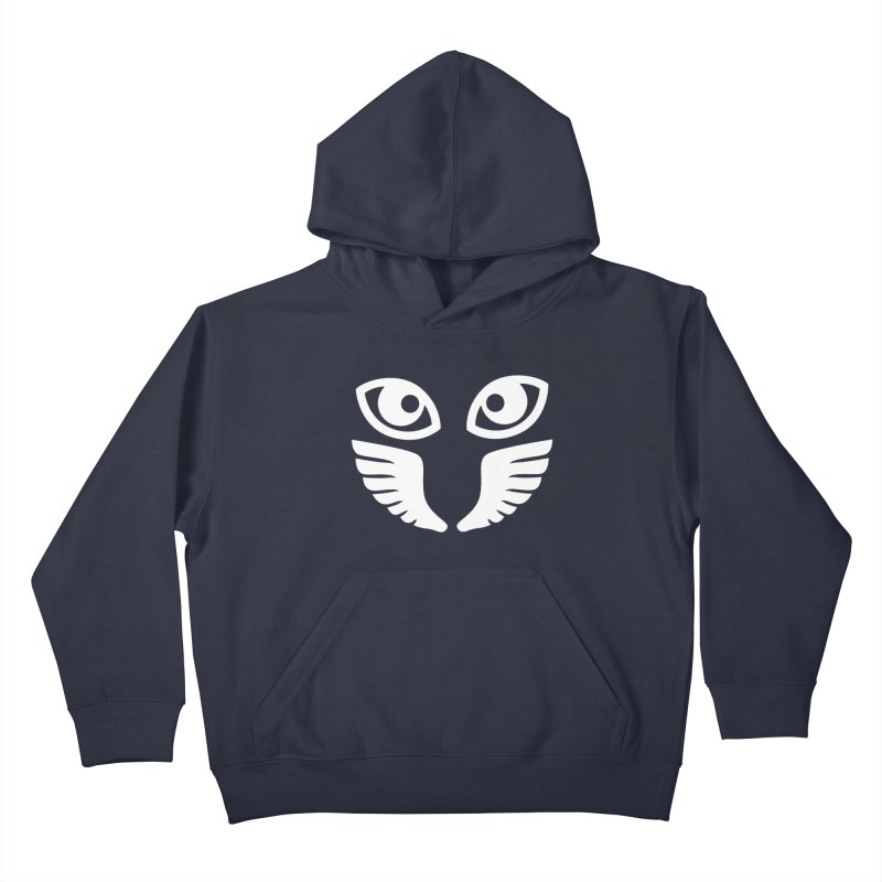 WHITE OCCHIALI - CLEAR OPTICS Kids Pullover Hoody by Piccolo Cafe