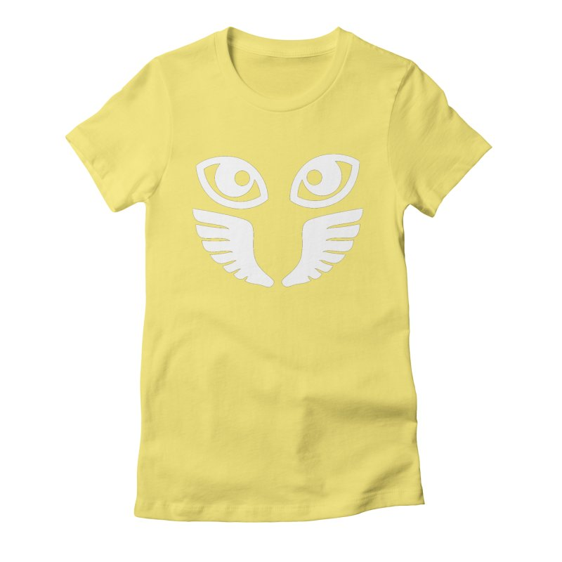 WHITE OCCHIALI - CLEAR OPTICS Women's T-Shirt by Piccolo Cafe